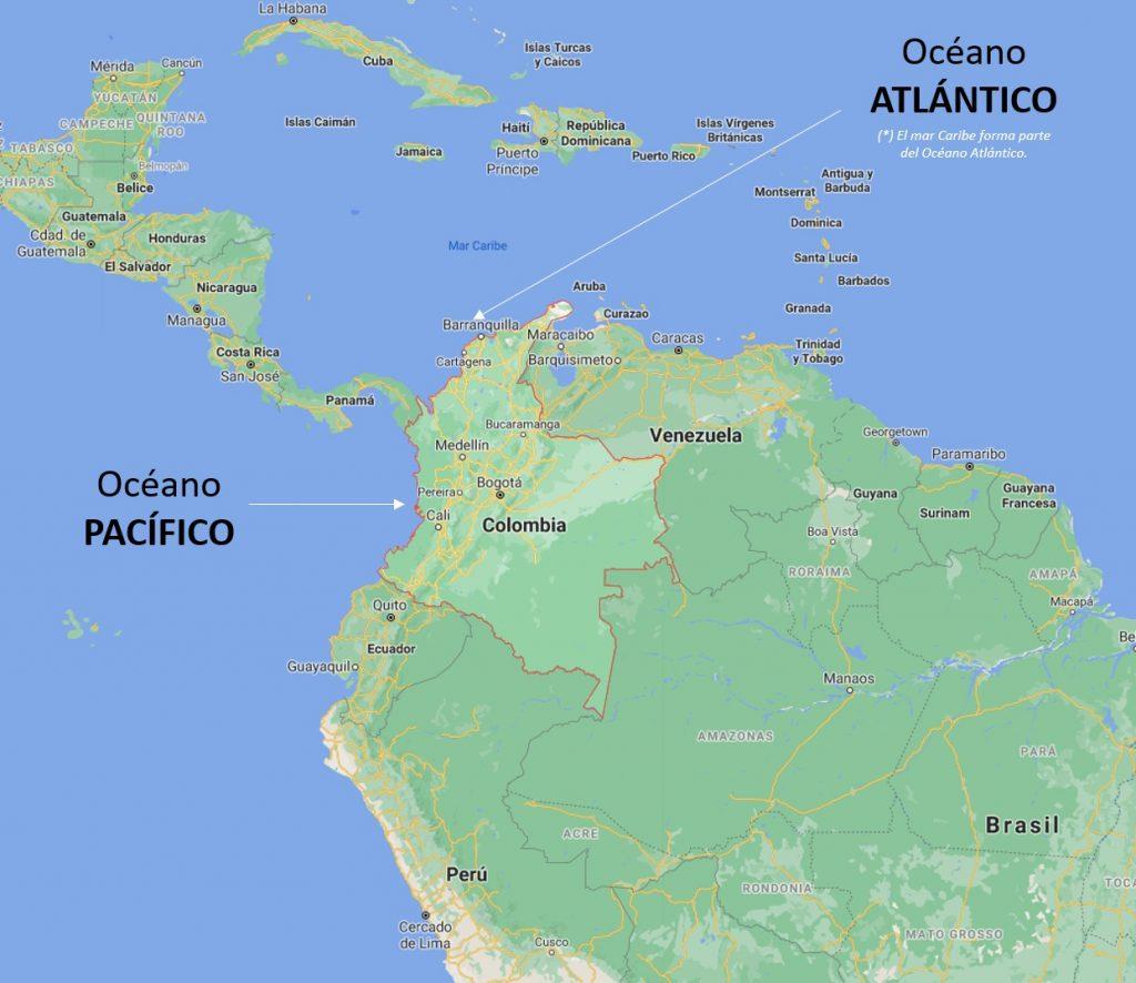 Océanos de Colombia